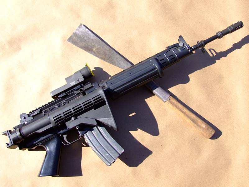 Fnc stock adapter type 1 with stock folding mechanism and universal