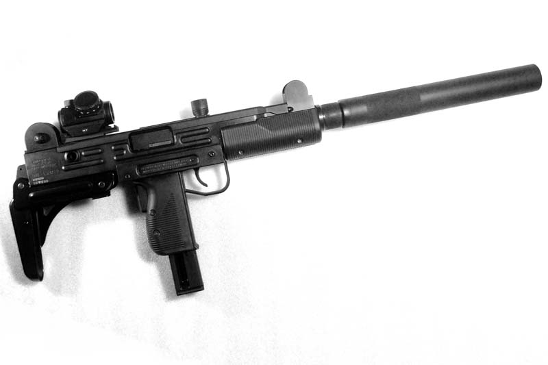 Walther Uzi  22 Scope Mount