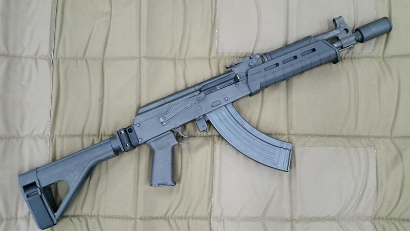 AK Pistol Adapter Type 1 | StormWerkz