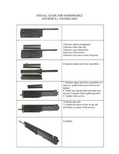 HG-DWK1-01 INSTALL